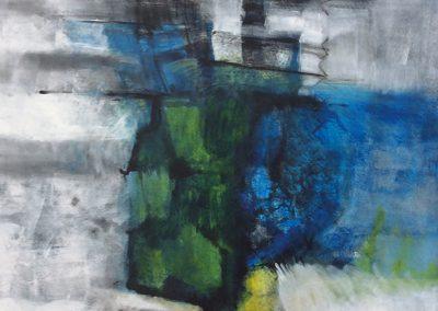 Tegengesteld – acryl op canvas – 70 x 80 cm