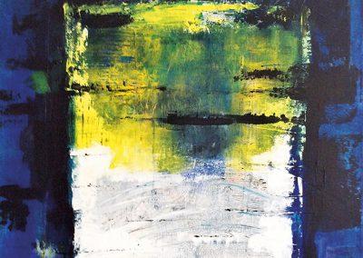 Geheimzinnig – acryl op canvas – 60 x 80 cm