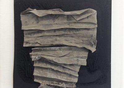 Gevouwen- fijn geweven metaalgaas - 20 x 20 cm