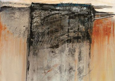 Verborgen schat 1 – acryl op canvas – 40 x 50 cm