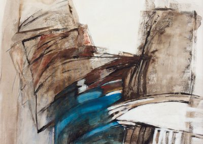 Verbinding – acryl op canvas – 71 x 83 cm