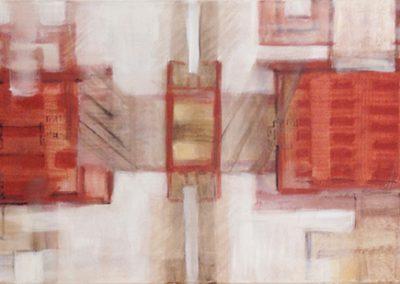 Chinees landschap 1 – acryl op canvas – 40 x 100 cm