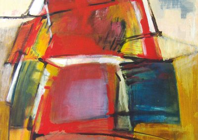 Polderlandschap 2 – acryl op canvas – 60 x 80 cm