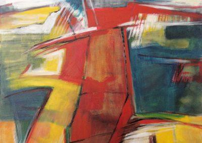 Polderlandschap 4 – acryl op canvas – 60 x 80 cm