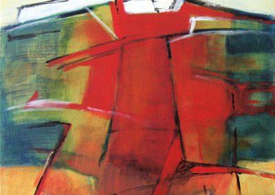 Polderlandschap 3 – acryl op canvas – 60 x 80 cm