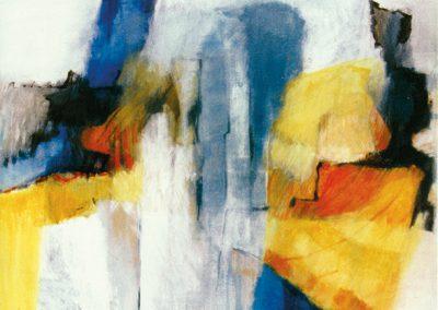 Lichte schaduwen – acryl op canvas – 80 x 100 cm