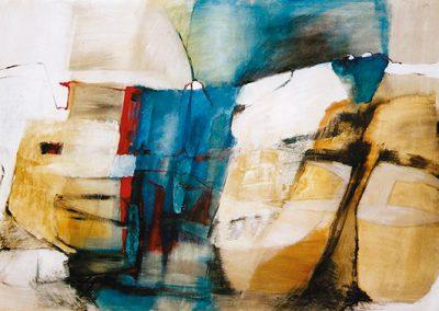 Landschappelijk 1 – acryl op canvas – 230 x 140 cm