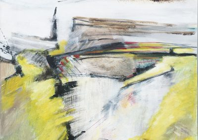 Opgebloeid – acryl op canvas – 60 x 70 cm