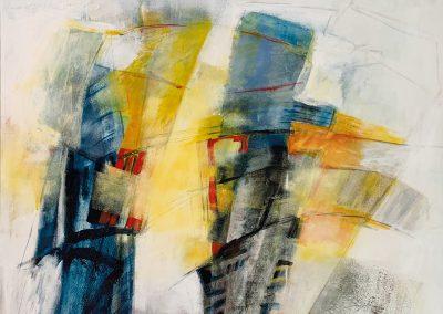 Los van elkaar – acryl op canvas – 60 x 80 cm