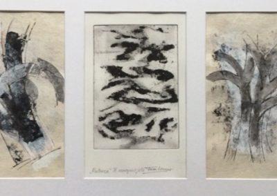Nature - ets - drieluik - 1/1 - 50 x 65 cm