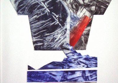 Nature - ets, combinatie - 1/1 - 75 x 100 cm