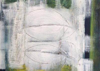 Gesloten – acryl op doek – 60 x 80 cm